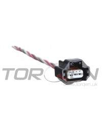 350z DE Wiring Specialties Black LH Camshaft Position / Oil Pressure Sending Unit Connector
