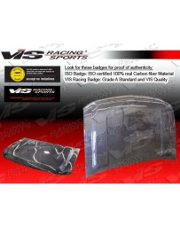 VIS Racing Carbon Fiber Hood OEM Style for Chevrolet Silverado 4DR 99-02