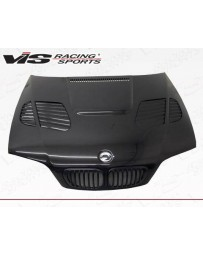 VIS Racing Carbon Fiber Hood GTR Style for BMW 3 SERIES(M3) 2DR 01-06