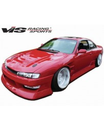 VIS Racing 1997-1998 Nissan 240Sx 2Dr B Speed Wide Body Full Kit