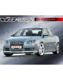 VIS Racing 2006-2008 Audi A4 4Dr A Tech Full Kit Urethane