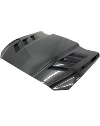 VIS Racing Carbon Fiber Hood AMS Style for Ford MUSTANG 2DR 15-17