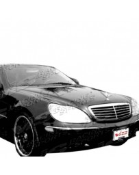 VIS Racing Carbon Fiber Hood OEM Style for Mercedes S-Class 4DR 00-02