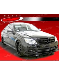 VIS Racing 2008-2011 Mercedes C- Class W204 4Dr Jpc Full Kit Polyurethane