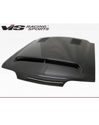 VIS Racing Carbon Fiber Hood GT 500 Style for Ford MUSTANG 2DR 87-93