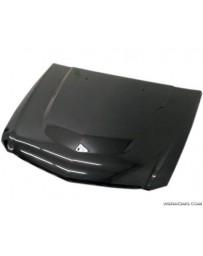 VIS Racing Carbon Fiber Hood OEM Style for Cadillac CTS-V 2DR 09-15