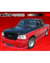 VIS Racing 1998-2008 Ford Ranger W Type 7 Pcs Complete Kit W/Roll Pan