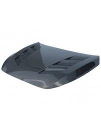 VIS Racing Carbon Fiber Hood AMS Style for Infiniti Q60 2DR 17-19