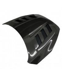 VIS Racing Carbon Fiber Hood AMS Style for Ford Focus 2DR & 4DR 15-18