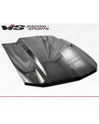 VIS Racing Carbon Fiber Hood Cowl Induction Style for Ford MUSTANG 2DR 10-12
