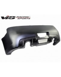 VIS Racing 2003-2007 Infiniti G35 2Dr Z Speed Rear Bumper With Carbon Lower Center