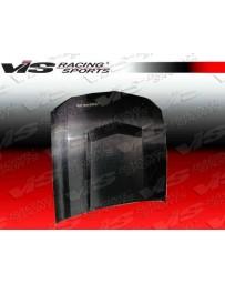 VIS Racing Carbon Fiber Hood Stalker 3 Style for Ford MUSTANG 2DR 05-09