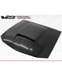 VIS Racing Carbon Fiber Hood Stalker X Style for Ford MUSTANG 2DR 05-09