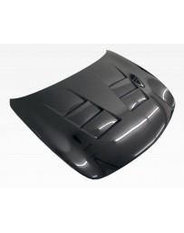 VIS Racing Carbon Fiber Hood Terminator Style for Infiniti G37 4DR 09-13