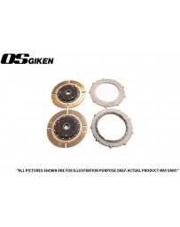 OS Giken R Twin Plate Clutch for Mitsubishi CE9A Lancer Evo I-III - Overhaul Kit B
