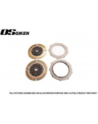 OS Giken TS Twin Plate Clutch Kit for Mitsubishi CP9A Lancer Evo 4-9 - Overhaul Kit A