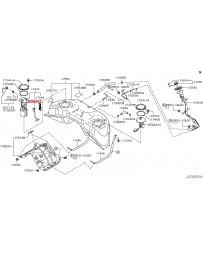 370z Nissan OEM Fuel Level Sending Unit Sensor, RH