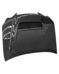 VIS Racing Carbon Fiber Hood V Line Style for Lexus GS300/400 4DR 98-05