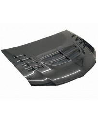 VIS Racing Carbon Fiber Hood VTX Style for Mitsubishi EVO 8 4DR 03-05