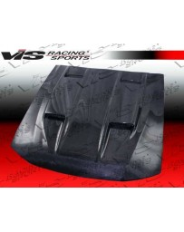VIS Racing Carbon Fiber Hood Mach 5 Style for Ford MUSTANG 2DR 99-04