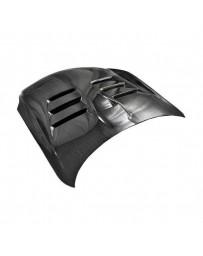 VIS Racing Carbon Fiber Hood EVO Style for Infiniti G35 2DR 03-07
