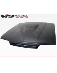 VIS Racing Carbon Fiber Hood Cobra R 2000 Style for Ford MUSTANG 2DR 94-98
