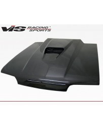 VIS Racing Carbon Fiber Hood SS Style for Ford MUSTANG 2DR 87-93