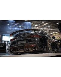 Toyota Supra GR A90 Carbon Rear Diffuser