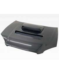 VIS Racing Carbon Fiber Hood V Line Style for Subaru WRX 4DR 04-05