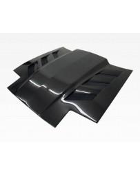 VIS Racing Carbon Fiber Hood AMS Style for Toyota Supra 2DR 86-92