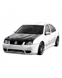 VIS Racing Carbon Fiber Hood Euro R Style for Volkswagen Jetta 4DR 99-05