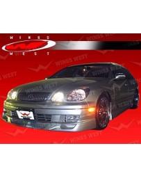 VIS Racing 1998-2005 Lexus Gs 4Dr Jpc Type B Polyurethane Full Kit