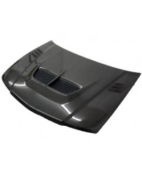 VIS Racing Carbon Fiber Hood Cyber Style for Mitsubishi Mirage (JDM) W/B 4DR 97-01