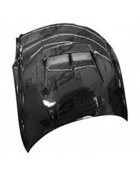 VIS Racing Carbon Fiber Hood JS Style for Infiniti G35 2DR 03-07