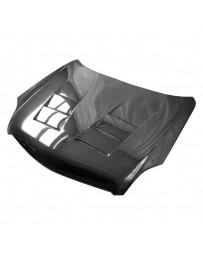 VIS Racing Carbon Fiber Hood Terminator Style for Infiniti G35 2DR 03-07