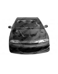VIS Racing Carbon Fiber Hood EVO Style for Chevrolet Cavalier 2DR & 4DR 95-02