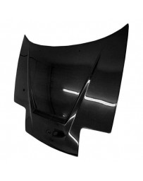 VIS Racing Carbon Fiber Hood Invader Style for Mazda Miata 2DR 90-98