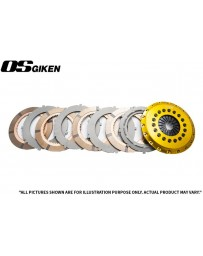 OS Giken R Quad Plate Clutch for Dodge ZB Viper - Overhaul Kit B