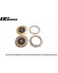 OS Giken TR Twin Plate Clutch for Toyota Supra (2JZGTE) - 26T GM Spline - Overhaul Kit A