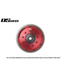 OS Giken HTR Twin Plate Clutch for Honda K20/K24 - Clutch Kit