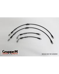 GruppeM ALFA ROMEO 156 2.5 V6 24V 1998 - 2004 STAINLESS STEEL FITTING (BH-8003S) FRONT & REAR SET