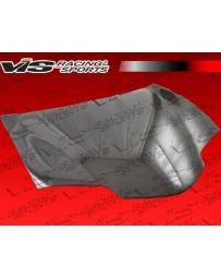 VIS Racing 1998-2002 Pontiac Trans Am 2Dr Oem Style Carbon Fiber Hood