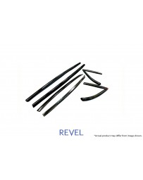 Revel GT Dry Carbon Door Window Moulding Cover 2020-2020 Toyota Supra - 6 Pieces