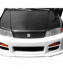 VIS Racing Carbon Fiber Hood OEM Style for Acura EL / Domani 4DR 97-00