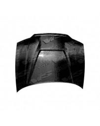 VIS Racing Carbon Fiber Hood Invader Style for AUDI S4 4DR 98-02