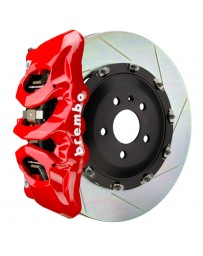 Toyota Supra GR A90 MK5 Brembo GT 380mmx34mm 2-Piece 6-Piston Black Front Slotted Big Brake Kit