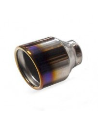 350z Invidia 02-08 Gemini Rolled Titanium Tip Cat-back Exhaust - *TIP ONLY*