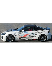 Charge Speed Type 3 Wide Body Complete Kit (Japanese FRP) (No HeadLight Washer) Subaru BR-Z ZC-6 / Toyota 86 ZN-6 13-20