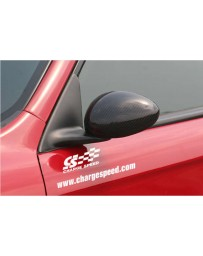 ChargeSpeed Spazio Nova OEM Carbon Door Mirror Covers (Japanese CFRP) Alfa Romeo 147 3/5 Dr 00-04