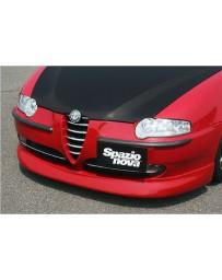 ChargeSpeed Spazio Nova Front Lip (Japanese FRP) Alfa Romeo 147 3/5 Dr 00-04